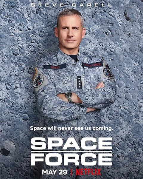 Space Force (2020) Season 1 480p 720p WebRip Dual Audio (HIndi+ English) | Netflix Webseries
