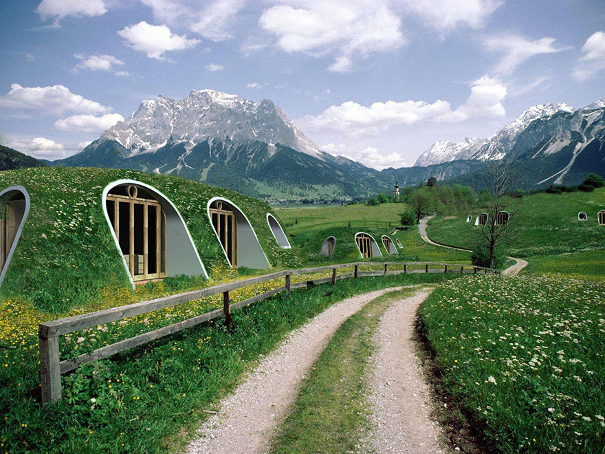 Company Builds Pre-Fab Hobbit Houses In 3 Days And You Can Actually Live There