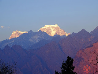 Evening View at Auli