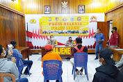 Polres Majene Rilis Hasil Operasi Patuh Siamasei 2020