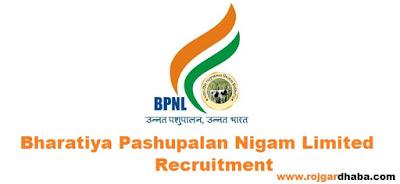 bpnl-bharatiya-pashupalan-nigam-limited-jobs
