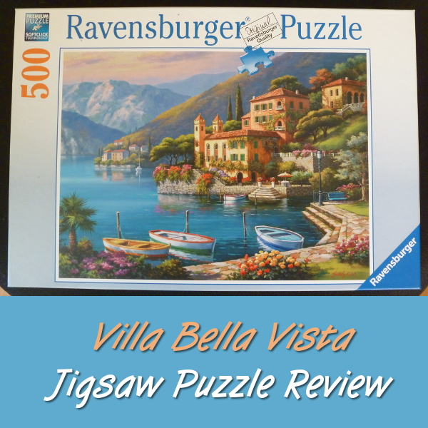 Ravensburger Villa Bella Vista Jigsaw Puzzle Review Sung Hwan Kim puzzles jigsaws landscapes scenery Italian art