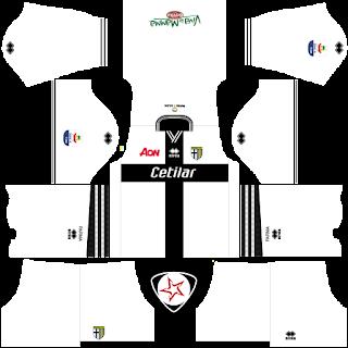 SSD Parma Calcio 2018 - 2019 Home Kit