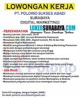 Lowongan Kerja Surabaya di PT. Polorio Sukses Abadi Agustus 2020