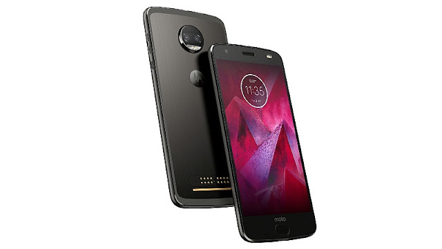 Motorola is dorsum i time to a greater extent than amongst its novel super smartphone Moto Z2 Force super smartphone launched