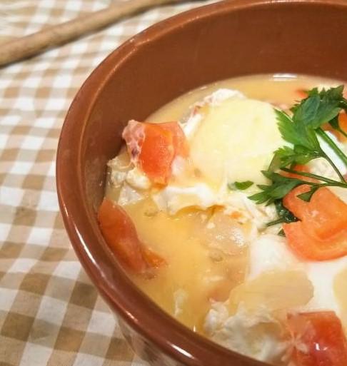 Simple Egg Moqueca Recipe