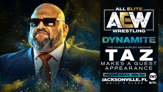 """Taz fará aparição especial no AEW Dynamite """"Homecoming"""""""