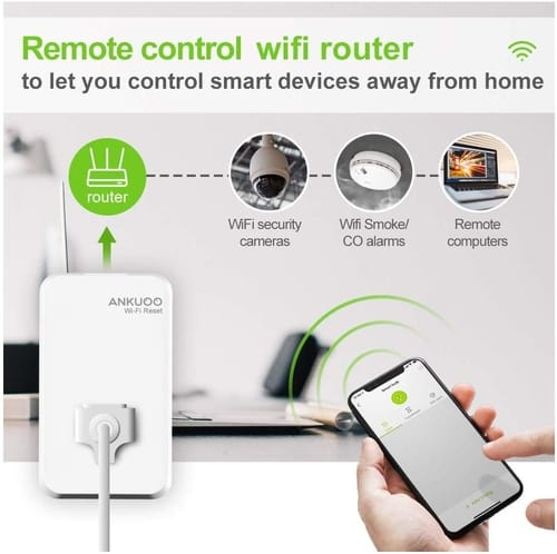 Review Ominilight Smart Plug Wi-Fi Router Reset
