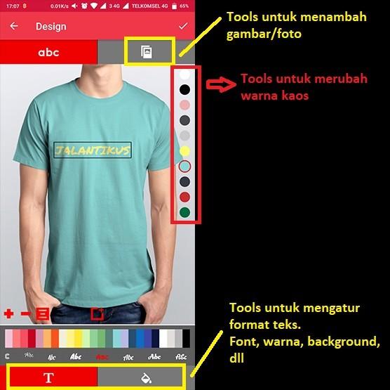 Cara Desain Baju Kaos Distro di HP Hanya 5 Menit!