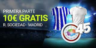 Luckia promo Real Sociedad vs Real Madrid 20-9-2020