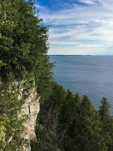 Ellison Bluff State Natural Area in Door County WI