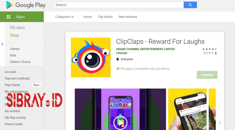 ClipClaps, Aplikasi Penghasil $ Dollar Terbaik