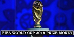 How much prize money for winners of World Cup 2018 Russia