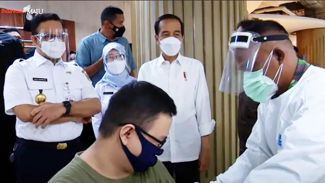 7,5 Juta Lebih Orang Divaksin di Jakarta, Anies Lampaui Target Jokowi