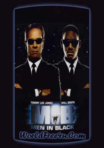 Poster Of Men in Black (1997) In Hindi English Dual Audio 300MB Compressed Small Size Pc Movie Free Download Only At worldfree4u.com