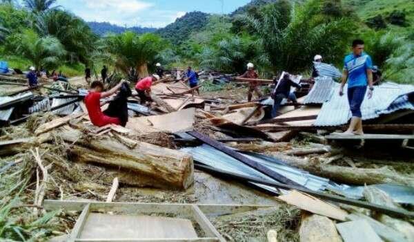 Banjir Lumpur Tongod, Sabah: 3 Mayat Mangsa Di Temui