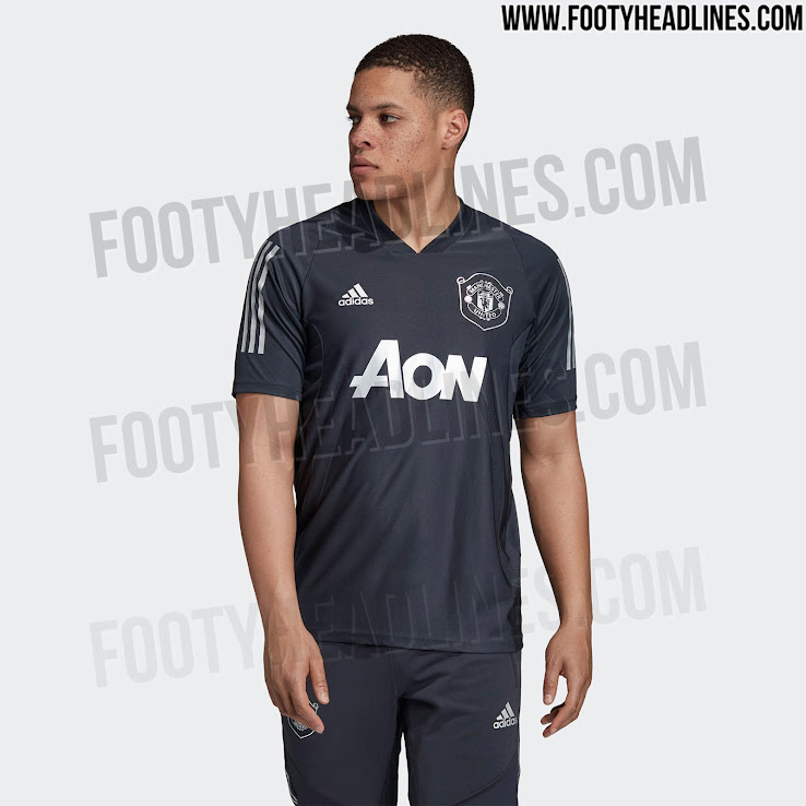 All New Adidas Template Manchester United 19 20 Europa League Training Jersey Leaked Footy Headlines