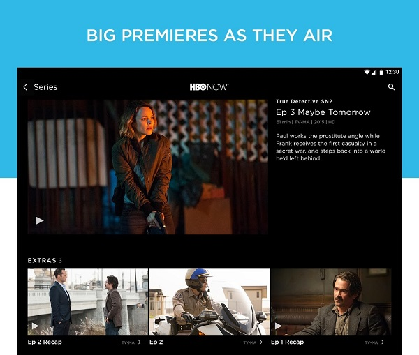 HBO NOW for Android and Amazon Fire tablets now available
