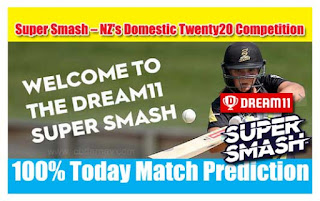 Who will win Today Super Smash T20, 5th Match AUK vs CTB - Cricfrog