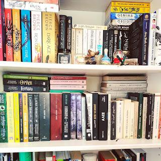 @bookellenic bookshelf on Instagram