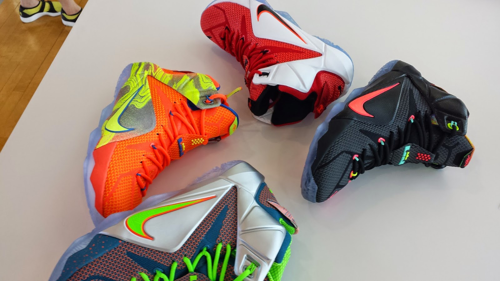 1ae1ff6fb3c Cleveland Magazine  LeBron James and Nike Unveil New LeBron 12 Shoes