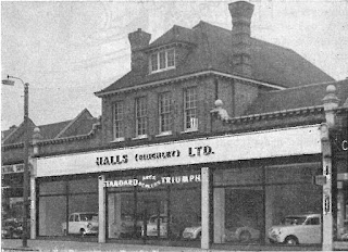 Halls (Finchley) Limited showrooms 1959