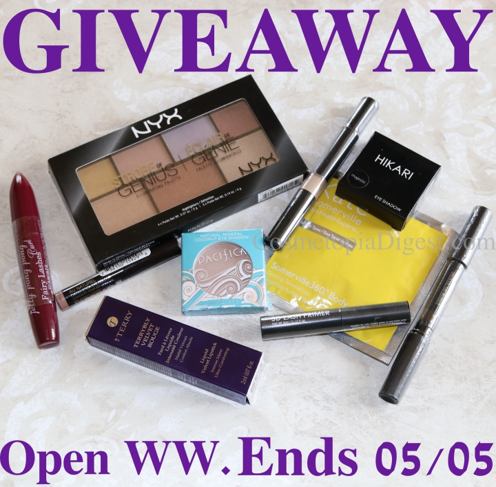 2K Celebration Makeup Giveaway For My Subscribers: Open WW
