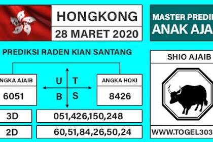 Angka Main Jitu Togel Hongkong Sabtu 28 Maret 2020