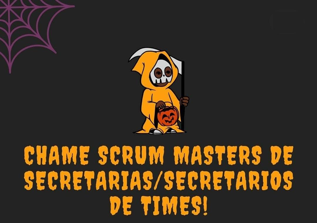 chame scrum masters de secretarios dos times