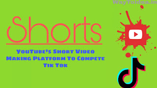 YouTube Shorts, what is YouTube Shorts, compete with Tik Tok