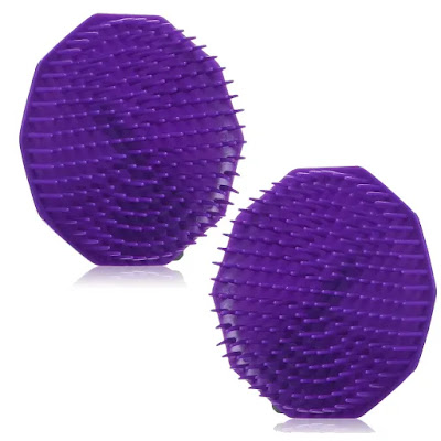 Scalpmaster Shampoo Brush On Natural Hair