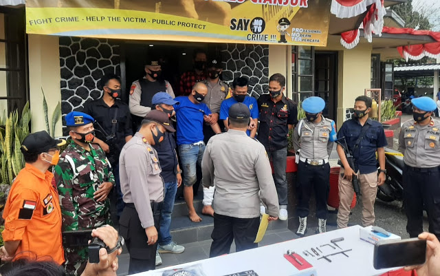 Residivis Curanmor Ditembak Polisi Di Cianjur, 7 Sepeda Motor Diamankan