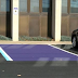 If You Ever See A Parking Spot Painted Purple, Here Is What It Actually Means.