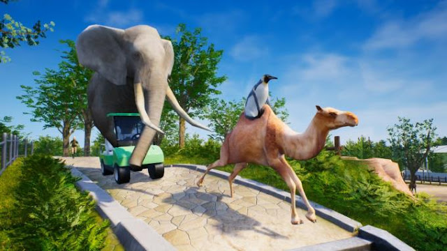 ZooKeeper Simulator simulation games are always popular, because you can literally «try on» any kind of activity, profession or even a whole business.