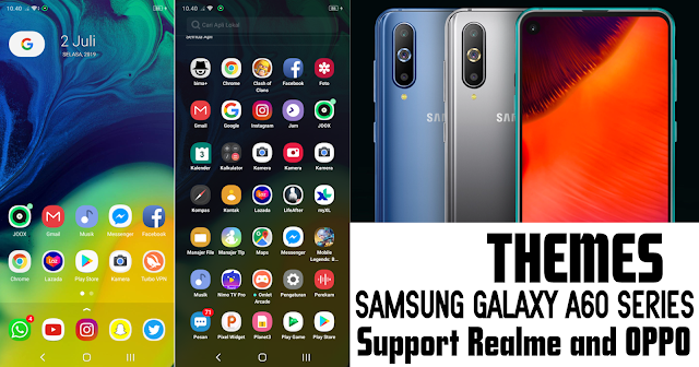 Download Themes SAMSUNG GALAXY A60 UI for Realme & OPPO - Sobat Realme