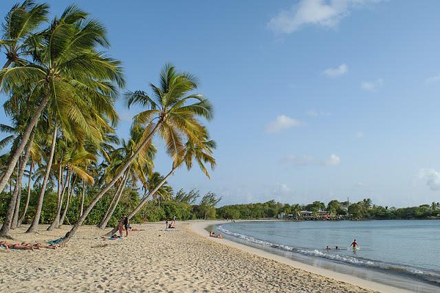 La plage de la Grande Anse des Salines