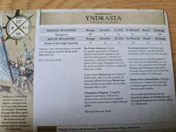 Yndratsta warscroll