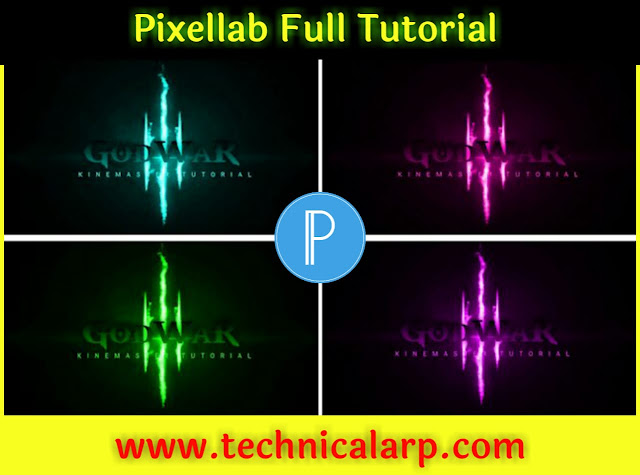 Use PixelLab App Full Tutorial Add Text on Photos Tutorial