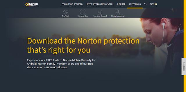 Antivirus Gratis Terbaik Yang Ringan Untuk Laptop - Norton free antivirus