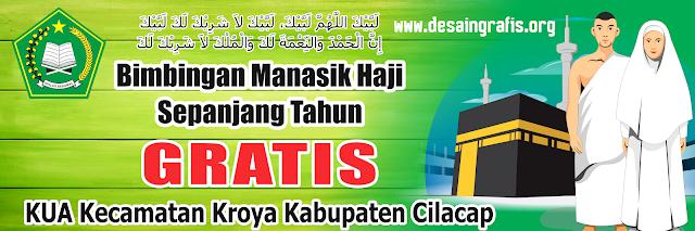 Banner Bimbingan Haji Sepanjang Tahun KUA