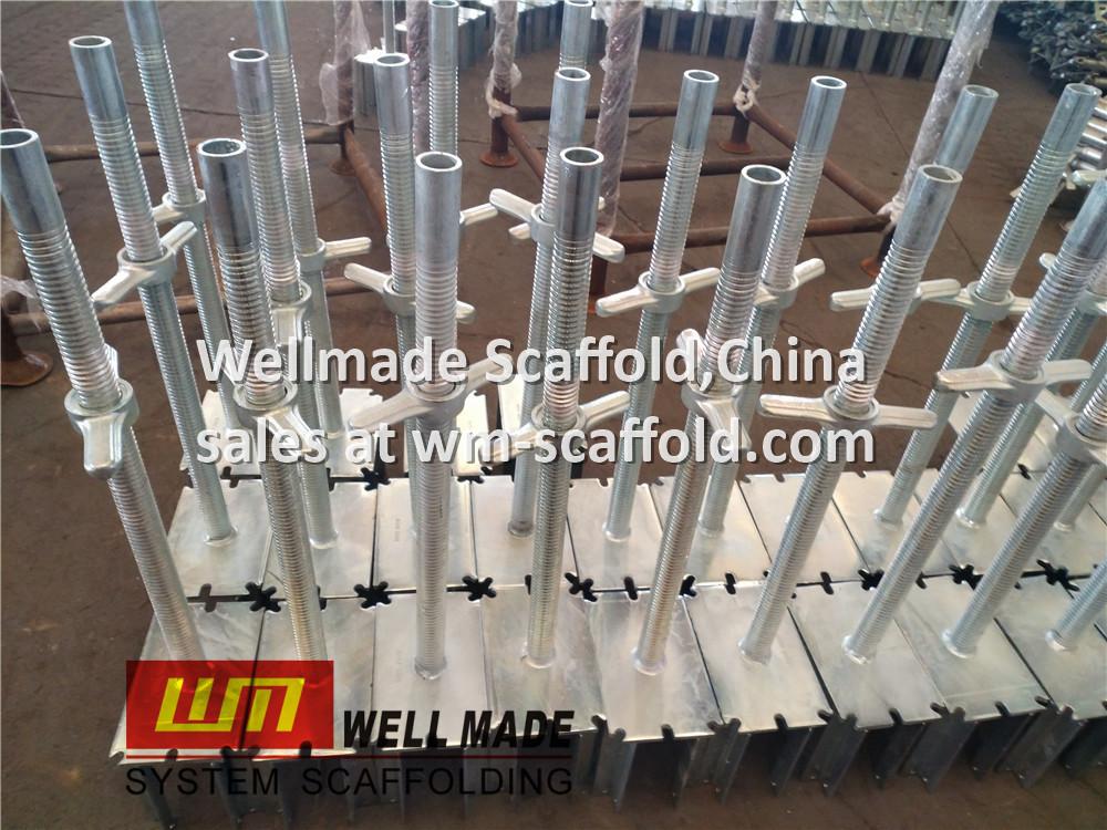 Adjustable Fork Head for Peri Formwork Concrete Slab Support