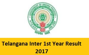 Telangana Inter 1st Year Result 2017