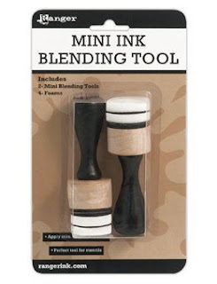 """Ranger - Mini Ink Blending Tool 1"""" Round"""