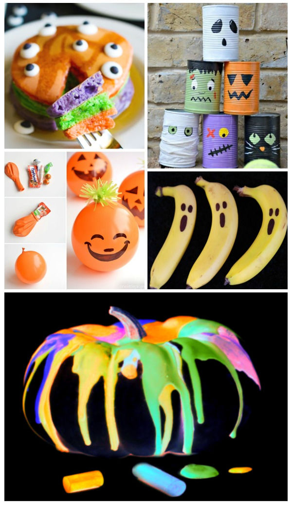 Wow kids of all ages with this collection of Halloween hacks! #halloween #halloweenhacks #halloweenhacksdiy #halloweenpartyideas