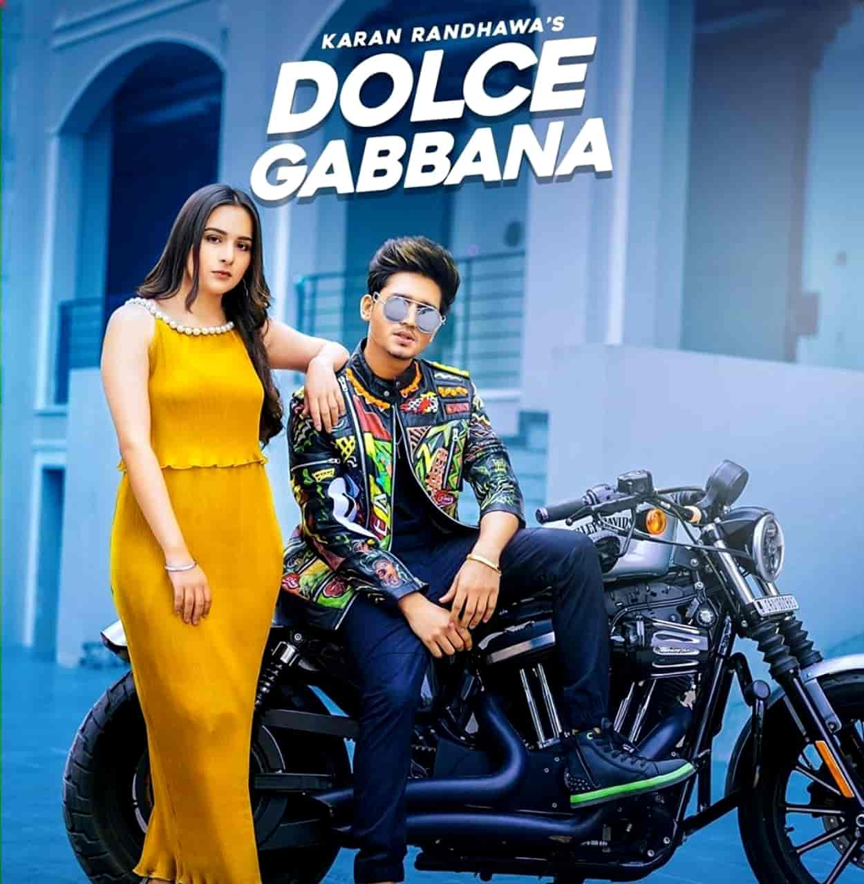 Dolce Gabbana Song Images By Karan Randhawa