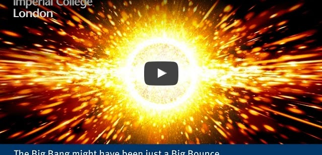 Physicists Presently Showed that the Big Bang Might have Been a 'Big Bounce