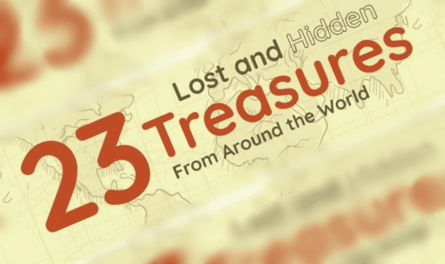 Lost and Hidden Treasures From Around the World