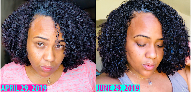 the benefits of sticking to a natural hair regimen and using the same products for 3 months