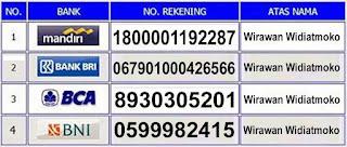 Info Nomor Rekening De Nature Yang Asli