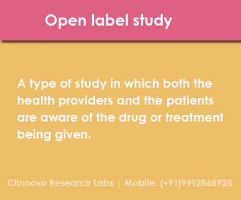 Science open label study